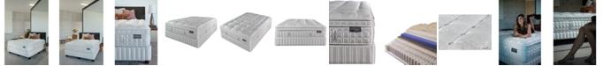 """King Koil Austen Collection Marlow 14.5"""" Firm Euro Pillow Top Mattress Set- Queen"""