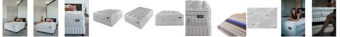 """King Koil Austen Collection Marlow 14.5"""" Plush Euro Pillow Top Mattress Set- Queen Split"""