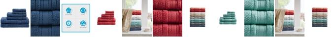 Madison Park Adrien Cotton 6-Pc. Super-Soft Towel Set
