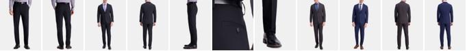 Haggar Men's Active Series Herringbone Slim-Fit Suit Separate Pants
