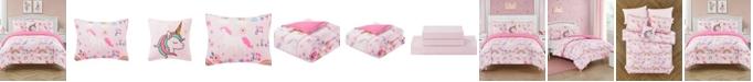 Jessica Sanders Unicorn Dance Twin 5 Piece Comforter Set