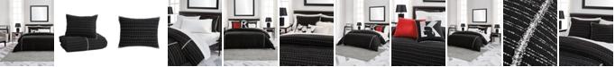 Karl Lagerfeld Paris Tweed Classique 3 Piece Comforter Set, Full/Queen