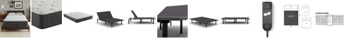 "Beautyrest BRS900-TSS 12"" Medium Firm Mattress Set - Queen with Adjustable Base, Created For Macy's"