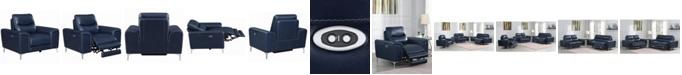 Coaster Home Furnishings Largo Upholstered Power Recliner