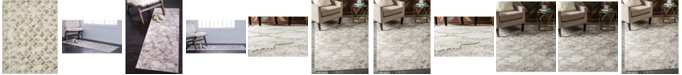 Bridgeport Home Pashio Pas2 Ivory Area Rug Collection