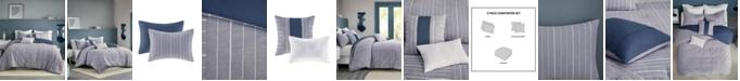 Urban Habitat Bergen Stripe 5-Piece King/Cal King Comforter Set