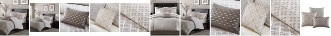 Madison Park Biloxi 7-Pc. Geometric Jacquard California King Comforter Set