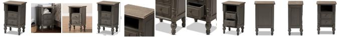 Furniture Noemie 2-Drawer Nightstand