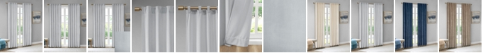 "510 Design Colt 37"" x 63"" Room Darkening Poly Velvet Rod Pocket/Back Tab Window Panel Pair"