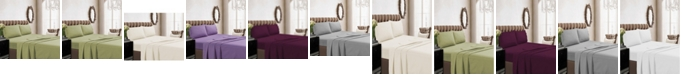 Tribeca Living 350 Thread Count Cotton Percale Extra Deep Pocket Twin Sheet Set