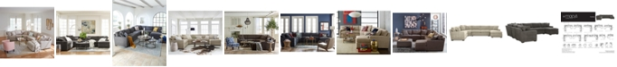 Furniture Radley Fabric Sectional Sofa Collection, Created for Macy's