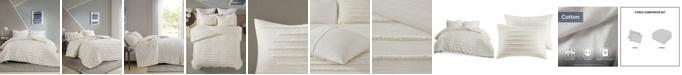 Urban Habitat Mercer 3 Piece Full/Queen Comforter Set
