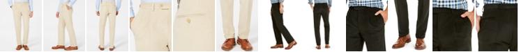 Lauren Ralph Lauren Men's Classic/Regular Fit Corduroy Double Reverse Pleated Dress Pants