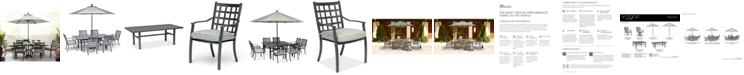 Furniture Highland Outdoor Dining Collection, with Sunbrella® Cushions, Created for Macy's