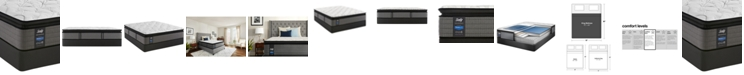 "Sealy Posturepedic Plus Shore Drive LTD 14"" Cushion Firm Euro Pillow Top Mattress Set- King"