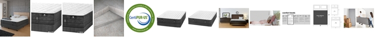 """Hotel Collection by Aireloom Coppertech 12"""" Firm Mattress Set- Queen Split, Created for Macy's"""