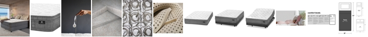 """Hotel Collection by Aireloom Handmade 14.5"""" Luxury Plush Euro Top Mattress- Twin, Created for Macy's"""