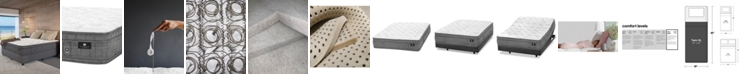 """Hotel Collection by Aireloom Handmade 14.5"""" Luxury Plush Euro Top Mattress- Twin XL, Created for Macy's"""