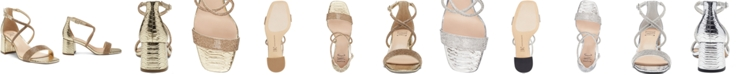 INC International Concepts INC Women's Nerissa Block-Heel Multi-Band Evening Sandals, Created for Macy's
