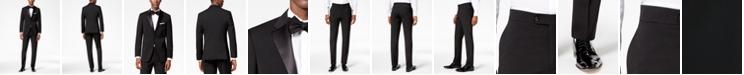 Tommy Hilfiger Men's Modern-Fit Flex Stretch Black Tuxedo Separates
