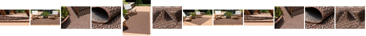 Bridgeport Home Pashio Pas6 Brown Area Rug Collection