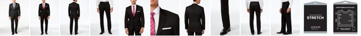 Alfani Men's Traveler Black Solid Classic-Fit Suit Separates, Created for Macy's