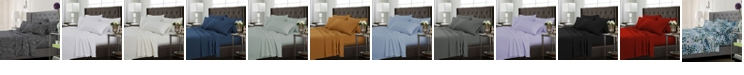 Tribeca Living Microfiber 120-GSM Extra Deep 4-Piece Pocket Twin Sheet Set