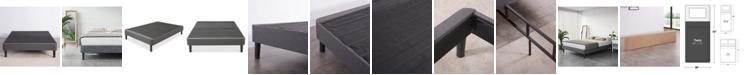 Sleep Trends Upholstered Platform Bed Frame- Twin