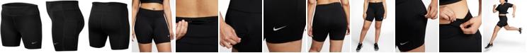"Nike Plus Size Dri-FIT Fast 7"" Running Shorts"