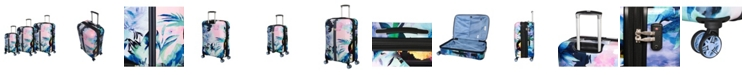 it Girl Ecstatic 3-Piece Hardside Expandable Luggage Set