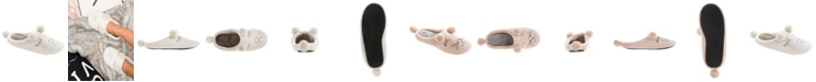Isotoner Signature Women's Microterry Critter Hoodback Slippers
