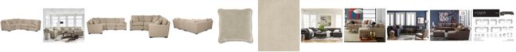 Furniture Radley Fabric 4 Piece Sectional Sofa Created