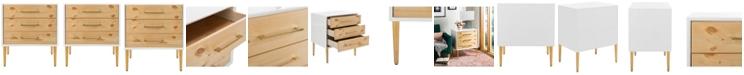 Safavieh Vanda 3-Drawer Beetlewood Side Table