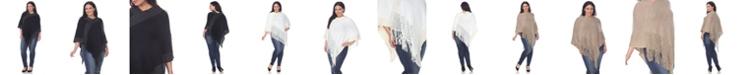 White Mark Plus Size Sansa Poncho