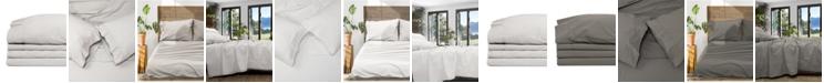Jennifer Adams Home Jennifer Adams Relaxed Cotton Percale Full Sheet Set