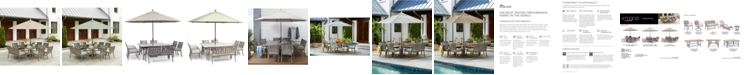 Furniture Wayland Outdoor Dining Collection, with Sunbrella® Cushions, Created for Macy's
