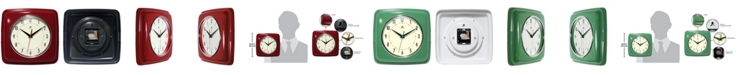 Infinity Instruments Square Wall Clock