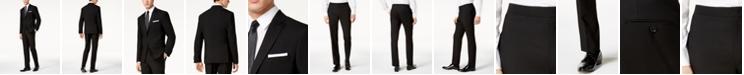 DKNY Men's Slim-Fit Black Tuxedo Suit Separates