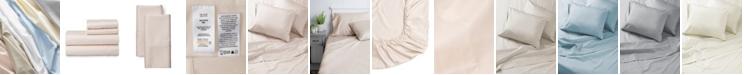 Welhome The Premium Cotton Sateen Queen Sheet Set