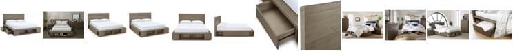 Furniture Brandon Storage Queen Platform Bed, Created for Macy's