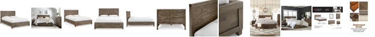 Furniture Canyon Queen Platform Bed, Created for Macy's