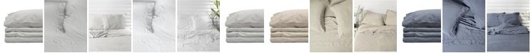 Jennifer Adams Home Jennifer Adams Relaxed Cotton Sateen Twin Sheet Set