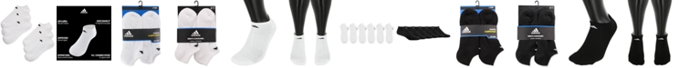 adidas Men's Cushioned Athletic 6-Pack No Show Socks