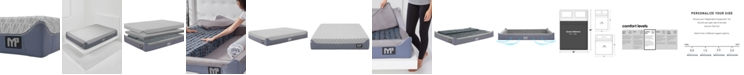 """Bedgear M3 12"""" 1.0 Cushion Firm Hybrid Mattress - Queen"""