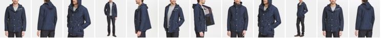 Cole Haan Men's Hooded Rain Coat