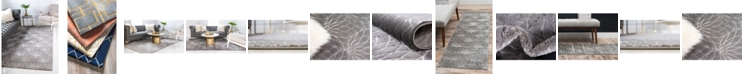 Marilyn Monroe  Glam Mmg003 Gray Area Rug Collection