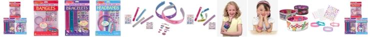 Melissa and Doug Melissa & Doug Design-Your-Own Bracelets, Headbands & Bangles Accessories Bundle