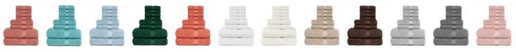 American Dawn Heirloom Manor Sarajane 800 GSM Benzoyl Peroxide Friendly Solid 8 Piece Bath Towel Set