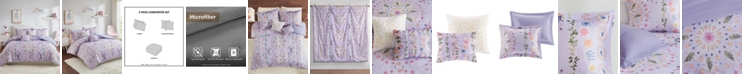 Intelligent Design Navi Full/Queen 5 Piece Printed Comforter Set