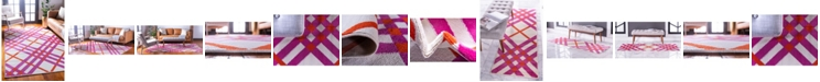 Jane Seymour  Plaid Jso006 White Area Rug Collection